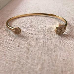 Pave Disc Cuff bracelet (Stella & Dot Stylist Samp